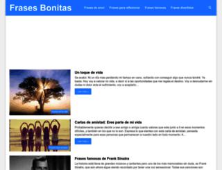 frasesbonitasweb.com screenshot