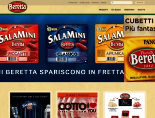 fratelliberetta.com screenshot