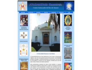 fraternidaderosacruz.org screenshot