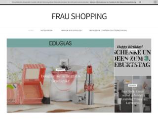 frau-shopping.de screenshot