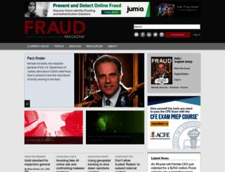 fraud-magazine.com screenshot