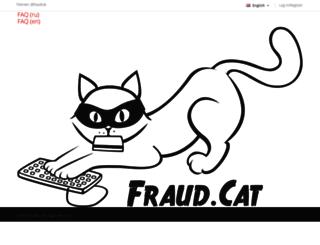 fraud.cat screenshot