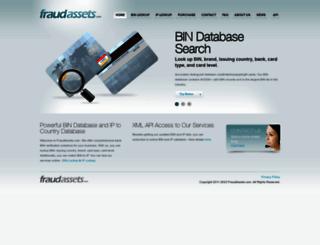 fraudassets.com screenshot