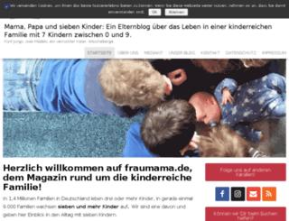 fraumama.de screenshot