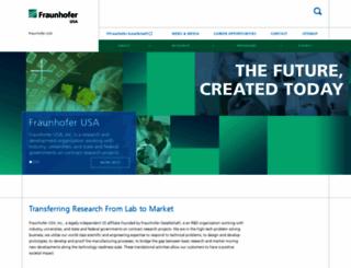 fraunhofer.org screenshot