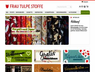 frautulpe.de screenshot