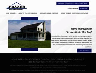 frazerbuildingcompany.com screenshot