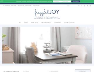 frazzledjoy.blogspot.com screenshot