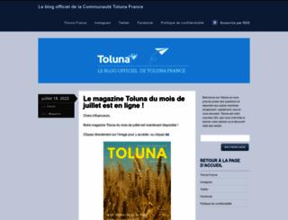frblog.toluna.com screenshot