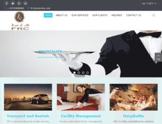 frcalmajed.com screenshot