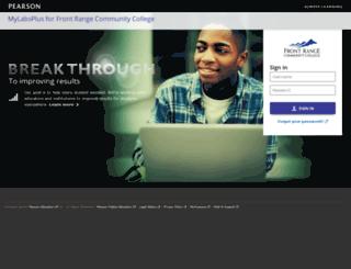 frcc.mylabsplus.com screenshot