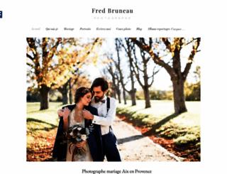 fred-bruneau.com screenshot