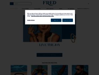 fred.com screenshot