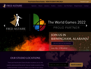 fredastaire.com screenshot