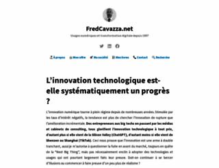 fredcavazza.net screenshot