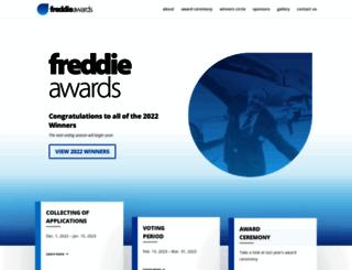 freddieawards.wpengine.com screenshot