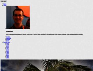 fredericiana.com screenshot