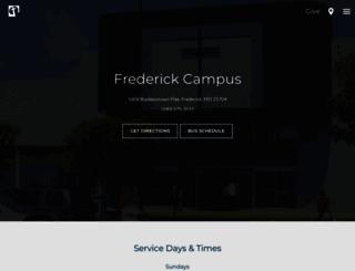 frederick.church-redeemer.org screenshot