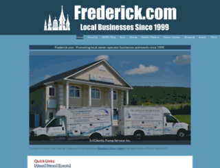 frederick.com screenshot