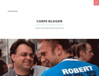 fredericken.com screenshot
