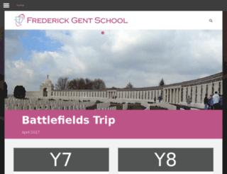 frederickgent.derbyshire.sch.uk screenshot