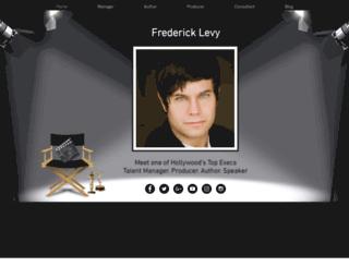 fredericklevy.com screenshot
