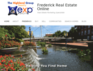 frederickrealestateonline.com screenshot