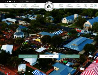 fredericksburgtexas-online.com screenshot