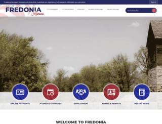 fredoniaks.org screenshot