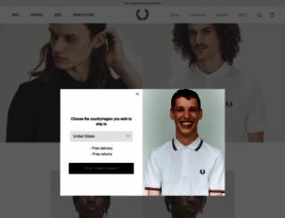 fredperry.com screenshot