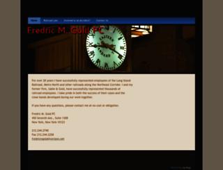 fredricmgold.net screenshot