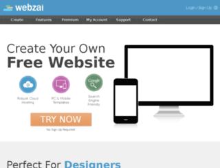fredstears.webzai.com screenshot