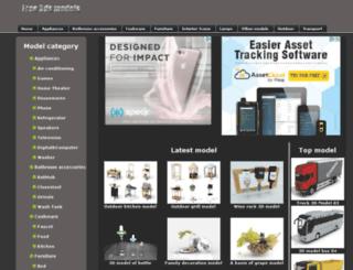 free-3ds-models.com screenshot