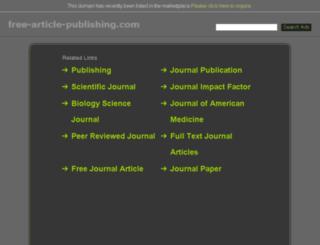 free-article-publishing.com screenshot