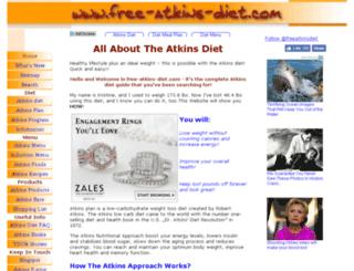 free-atkins-diet.com screenshot
