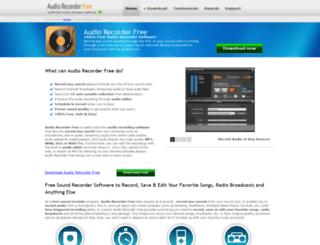 free-audioconverter.com screenshot