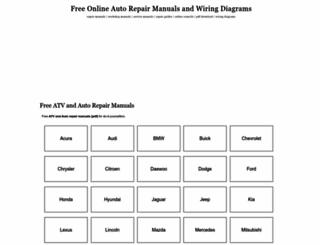 free-auto-repair-manuals.com screenshot