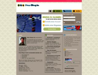 free-blog.in screenshot