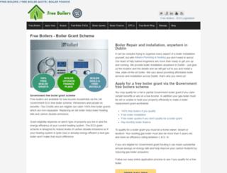 free-boilers.org.uk screenshot