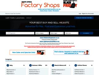 free-classifieds-advertising-cape-town.blaauwberg.net screenshot