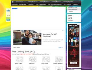 free-coloring-book.com screenshot