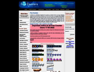 free-counters.co.uk screenshot