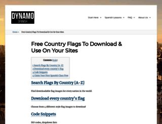 free-country-flags.com screenshot