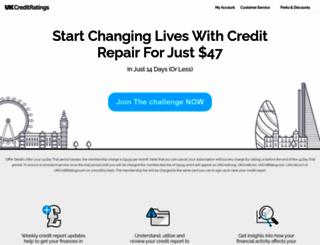 free-creditreports.co.uk screenshot