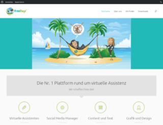 free-days.de screenshot