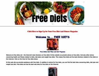 free-diets.net screenshot