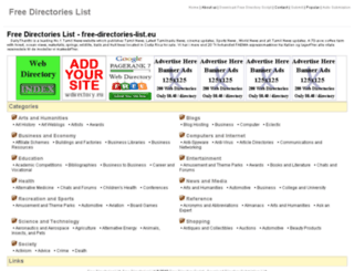 free-directories-list.eu screenshot