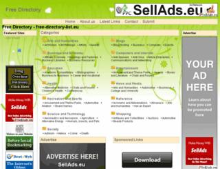 free-directory-list.eu screenshot