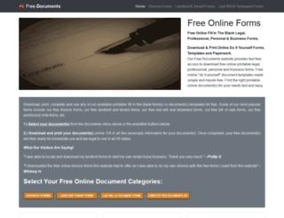free-documents.com screenshot