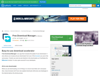 free-download-manager.en.softonic.com screenshot